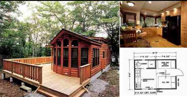 Fully furnished model homes