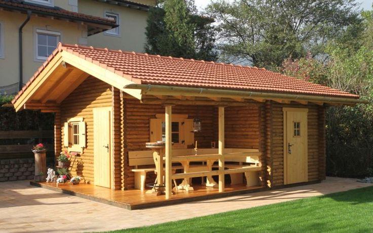 Top 10 cutest little log cabins 1 little mule - Gartenhaus einrichtungstipps ...