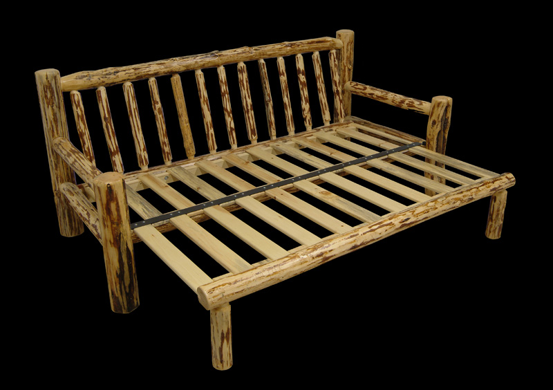 Log Sofa Furniture Futon