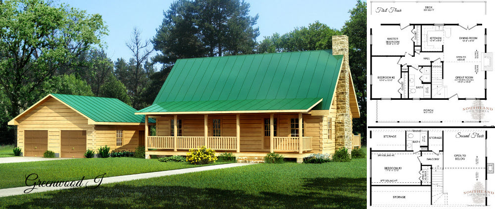Cozy Log Home Plans Home Plan