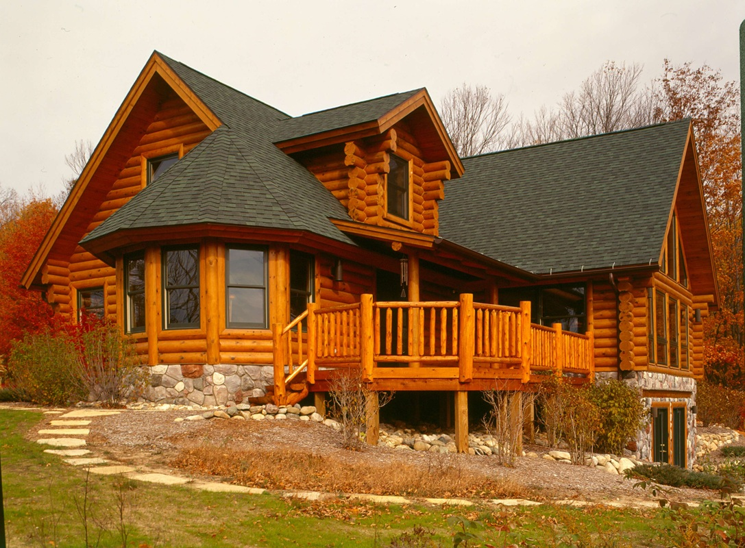 10 gorgeous log homes from top notch log home builder bear Country log home