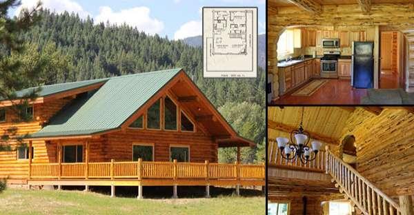 Diy log homes