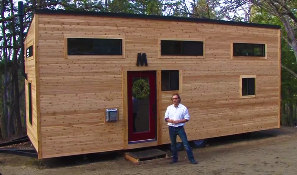 Cool Gorgeous Modern Tiny House Hand Built In 4 Months For 23K Inspirational Interior Design Netriciaus