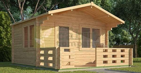 Tiny Log Cabin Kit From $2,357 View Photo Gallery