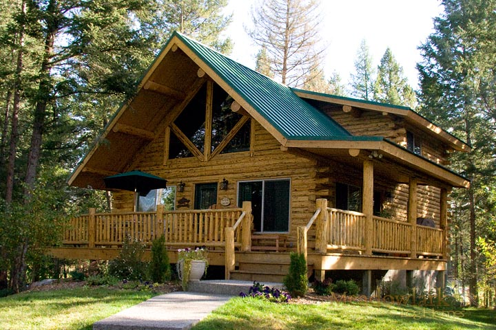 Swiss Chalet Log Cabin Kit Just 42 287 Click To View