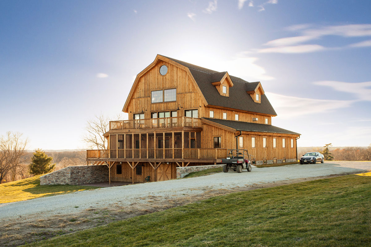 Is this a rustic barn house or a modern mansion oh wait it 39 s both - Barn house decor ...
