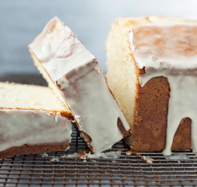 Tangerine Cake With Citrus Glaze Recipe — Dishmaps