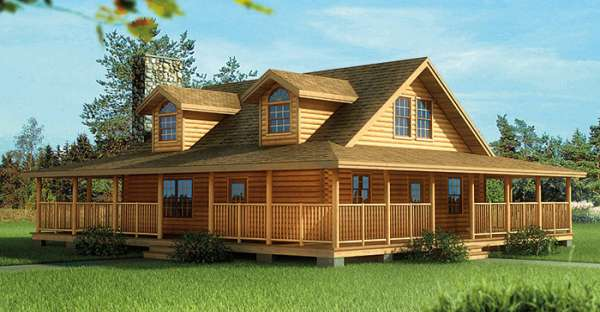 Western style log homes home design and style for Western house plans with photos