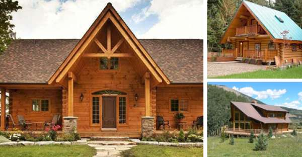 Build Your Ideal Log Home For Cheap