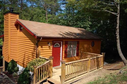 The Log Home Of Lifelong Love