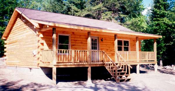 27 900 pre cut log house shell this is the westport log home Pre cut homes