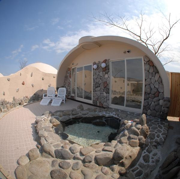 Styrofoam Dome 314 sq. ft. styrofoam dome homes