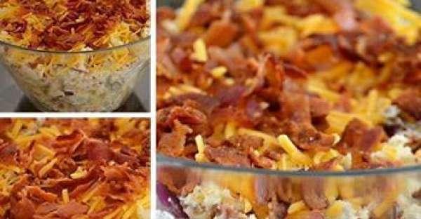 ukraine baked potato salad
